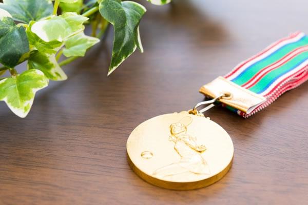 北京オリンピックでの金メダル